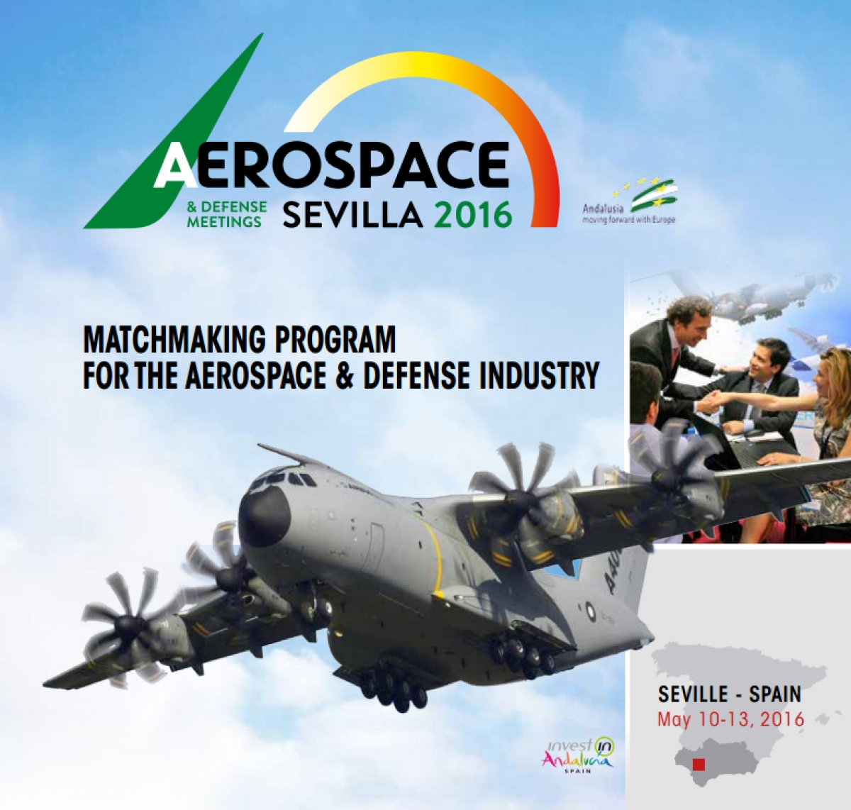 Carbures en el III Aerospace and Defense Meetings-ADM Sevilla 2016